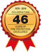 Celebrating 46 years of fire protection excellence