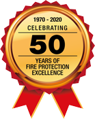 Celebrating 50 years of fire protection excellence