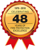 Celebrating 48 years of fire protection excellence